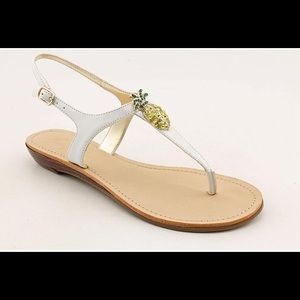 Marc Fisher Pineapple Thong Sandals Size 8M
